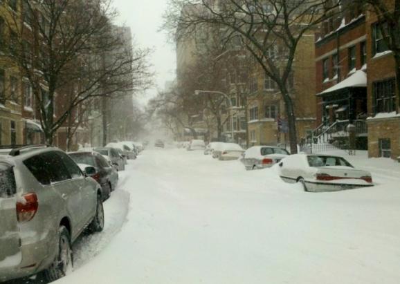 #snowmageddon in Chicago, 2011