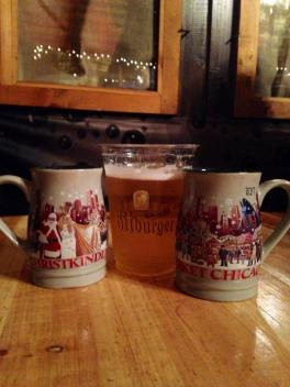 Gluwein at Christkindlmarket, Chicago