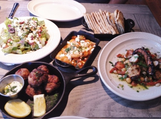 Meze at MP Taverna