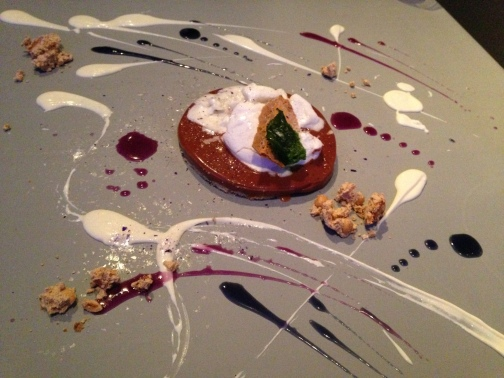Dessert at Alinea
