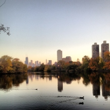 Fall, North Pond, Chicago