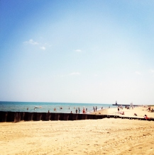 Loyola Park Beach, Chicago