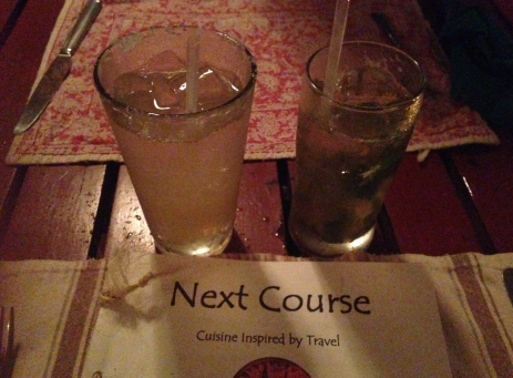 Cocktails, Next Course, Vieques