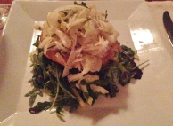 Crab Salad, Next Course, Vieques