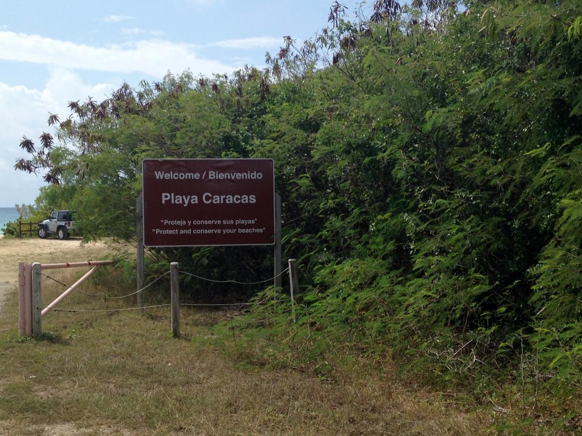 Caracus Beach, Vieques
