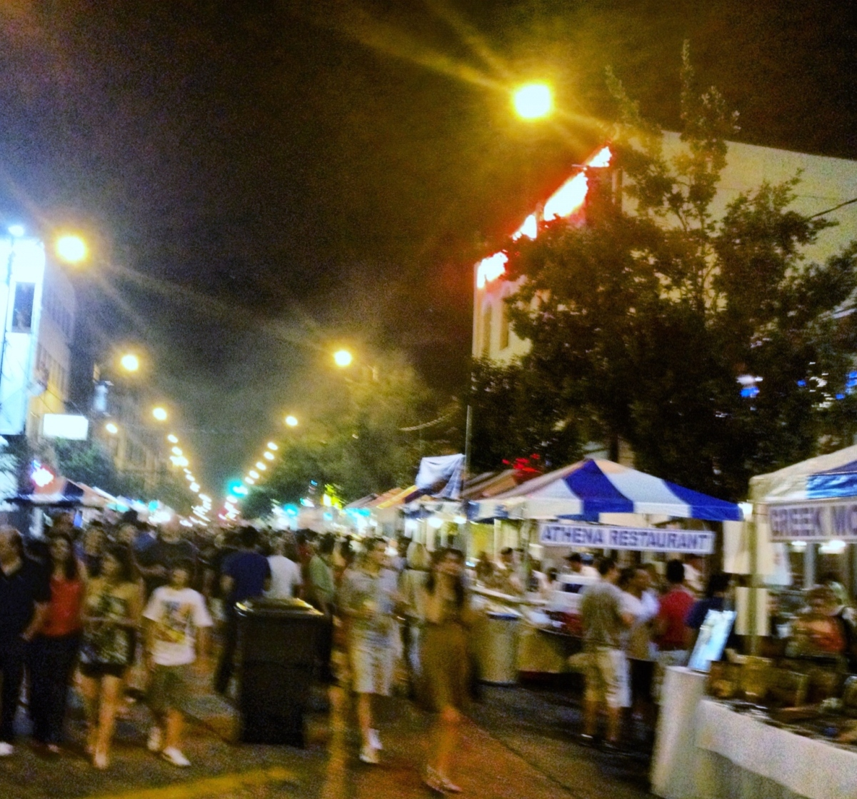 Taste of Greektown, Chicago